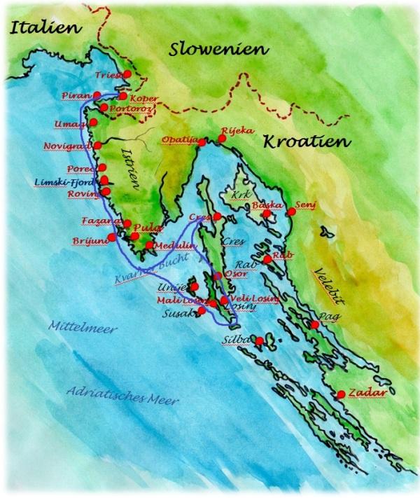 Segelurlaub Kroatien Familientorns Mitsegeln Istrien Und Kvarner